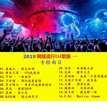 群星《2019网络流行DJ歌曲(一)》